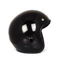 Black Youth Bullet Riding Helmets, Size: M