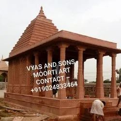 Marble Mandir Construction Work