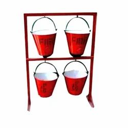 4 Fire Bucket Set
