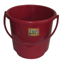 Colored Plain Plastic Bucket