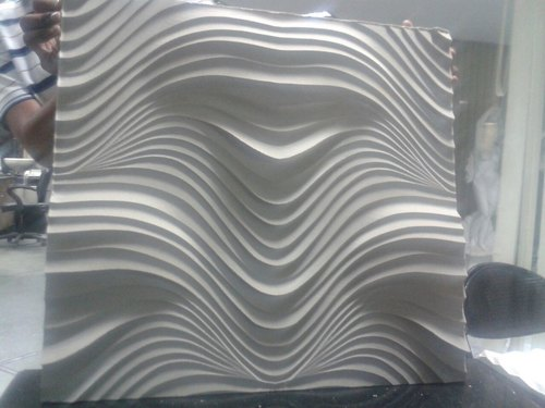 3D Engraved Mdf Wall Panel, Thickness: 17 Mm