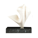 Designer Marble Abstract Sculpture, For Exterior Decor