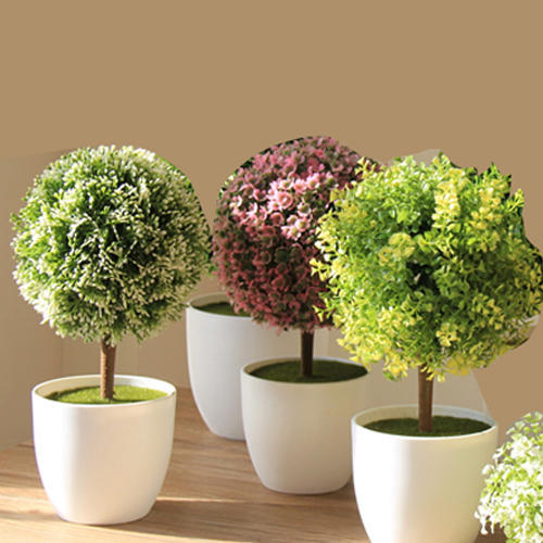 Green Vintage Artificial Plants For Living Room, Rs 250 ...
