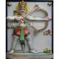 Marble Ghantakarna Statue
