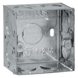 Galvanized Iron (GI) Square GI Electrical Box