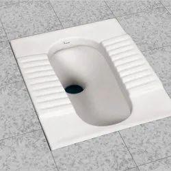 White Ceramic Squat Toilet