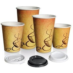 Brown Trinity Disposable Coffee Paper Cup, for Event and Party Supplies