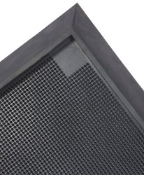 Black Plain Rubber Disinfectant Mat