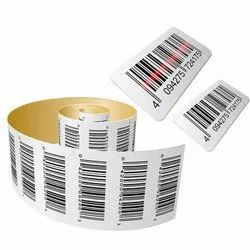 PVC Barcode Label