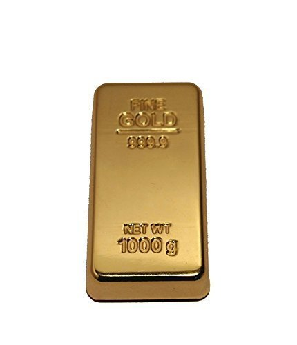 Glittering Gold Bar Paper Weight