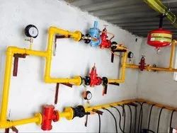 LPG Pipe Line Installation Services for Mall