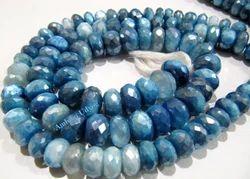 Natural Blue Topaz Color Moonstone Beads