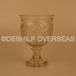 Table Glass Hurricane Lamps