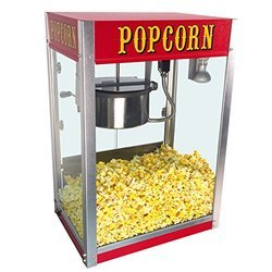 Electric Popcorn Machine With Glass