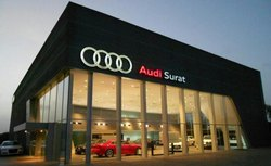 Audi Showroom Construction Service