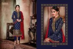 Embroidered Straight Salwar Suits