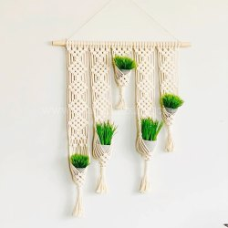 Macrame Plant Hanger Hanging Planter For Home Decor