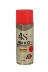 4S Fluorescent Red-42 Spray Paint