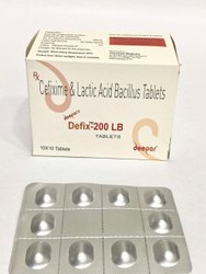 Cefixime and Lactic Acid Bacillus Tablets
