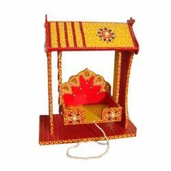 Wooden Laddu Gopal Swing