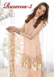 Unstitched Georgette Pakistani Suits