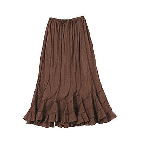 Ladies Ethnic Long Skirt, Ladies Long Skirts - Myon Fashion Trendz ...