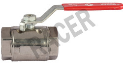 Screwed End Stainless Steel Two Eye Type Ball Valve
