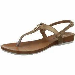EVA Slipper Ladies Bata Flat Sandal, Size: 5-9
