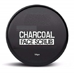 Activated Charcoal Cream Charcoal Face Scrub, Packaging Size: 100 Gm