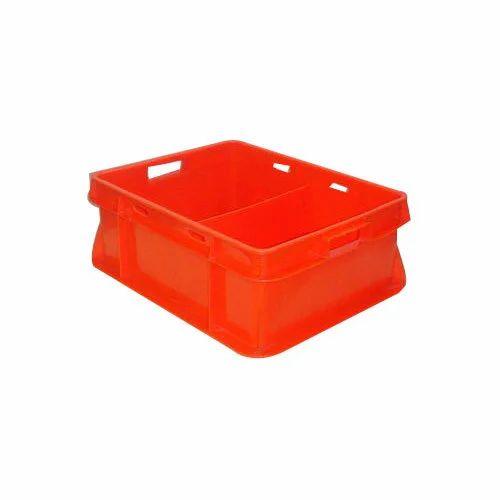 Plastic Dairy Crate