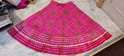 Bandhej Double Flair Skirt