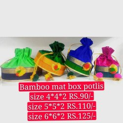 Bamboo Box Potli