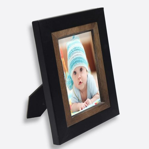 d4ccdd4eb0d3 Black Wooden Border Photo Frame at Rs 350  piece