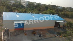 Industrial Roofing Shed Contractors chennai