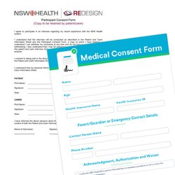 Day Patient Consent Form