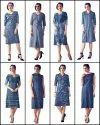 Designer Denim  Fabric Kurti