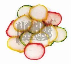 Sago Round Shaped Snack Pellet