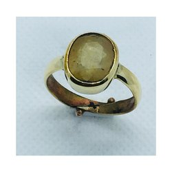 Yellow Sapphire Pukhraj Ring