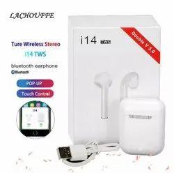 White Mobile I14 TWS Wireless Earbuds