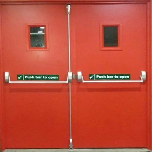 Emergency Exit Fire Resistant Door आपातकालीन निकास दरवाजा