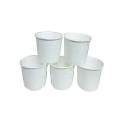 For Water White Plain Paper Cup, Capacity: 50ml, Packet Size: 100 Piece
