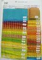 Folder No 1306 100 % Linen Stripes Fabrc