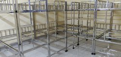 Silver SS Double Bunk Beds