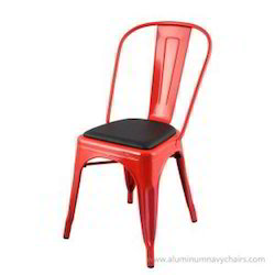 Tolix With Seat Cushion Chair