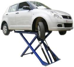 Car Service Lift - Scissor Type