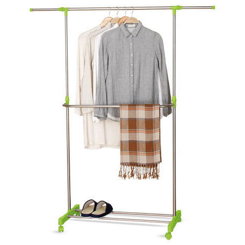 hanging wardrobe dress heavy wardrobes coat duty rack clothes rolling cloth closet