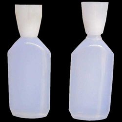 White Empty Plastic Glue Bottle