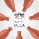 Earthen Water Bottle