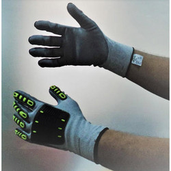 Dynaflex5/Impacto Polyamide Seamless Knitted Dipped Gloves