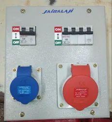 Jaibalaji Steel 16 Amps 3 Pin & 32 Amps 5 Pin Metal Box